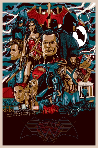 Batman v Superman Dawn of Justice Fan Art #1