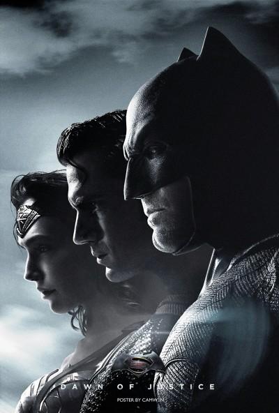 Batman v Superman DOJ Fan Poster