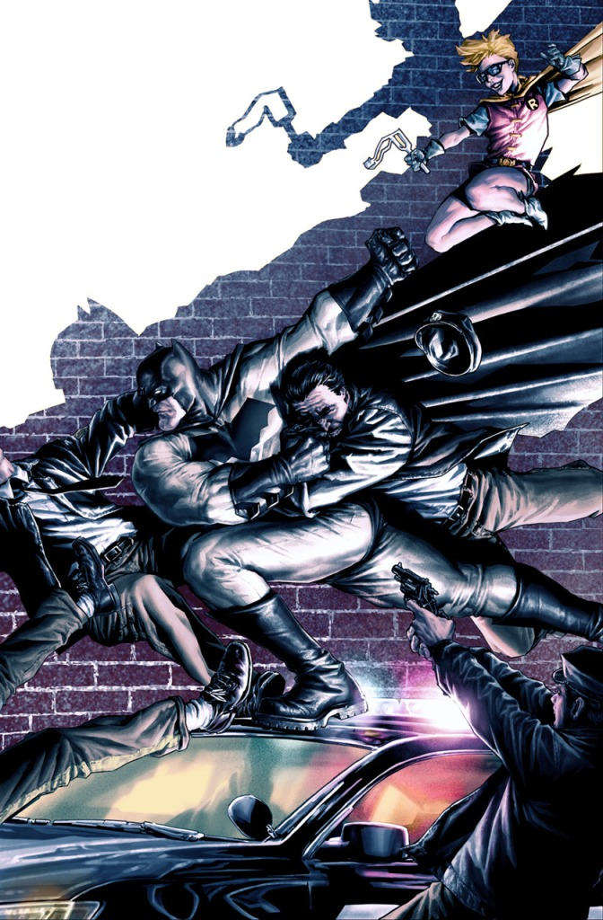 Dark Knight III The Master Race Variant Cover #2