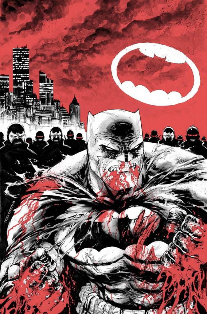 Dark Knight III The Master Race Variant Cover #5