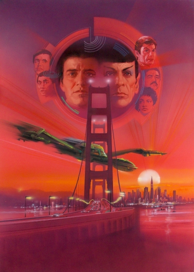 Star Trek IV The Voyage Home Poster Design #1