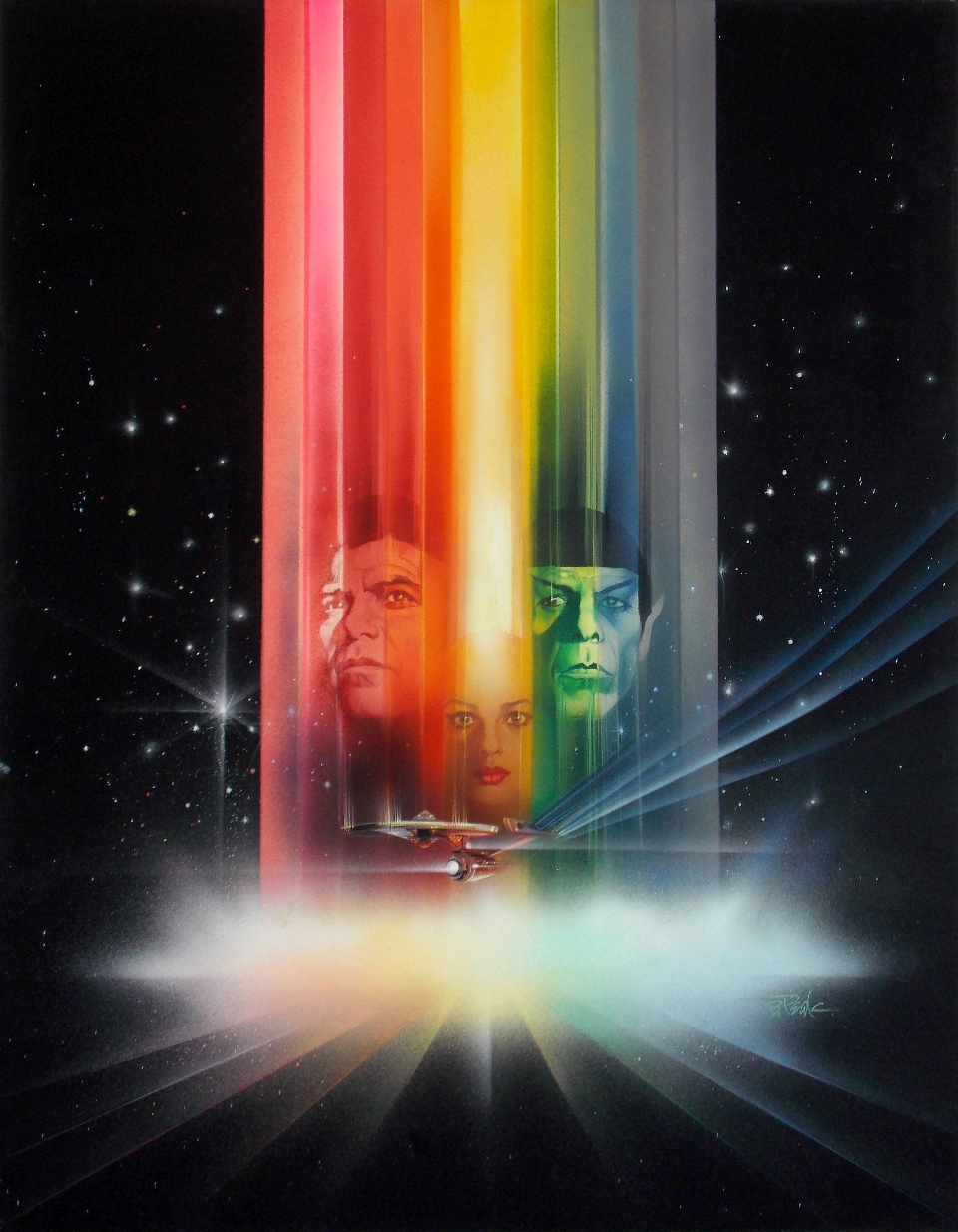Poster design article - Star Trek The Motion Picture Poster Design 1
