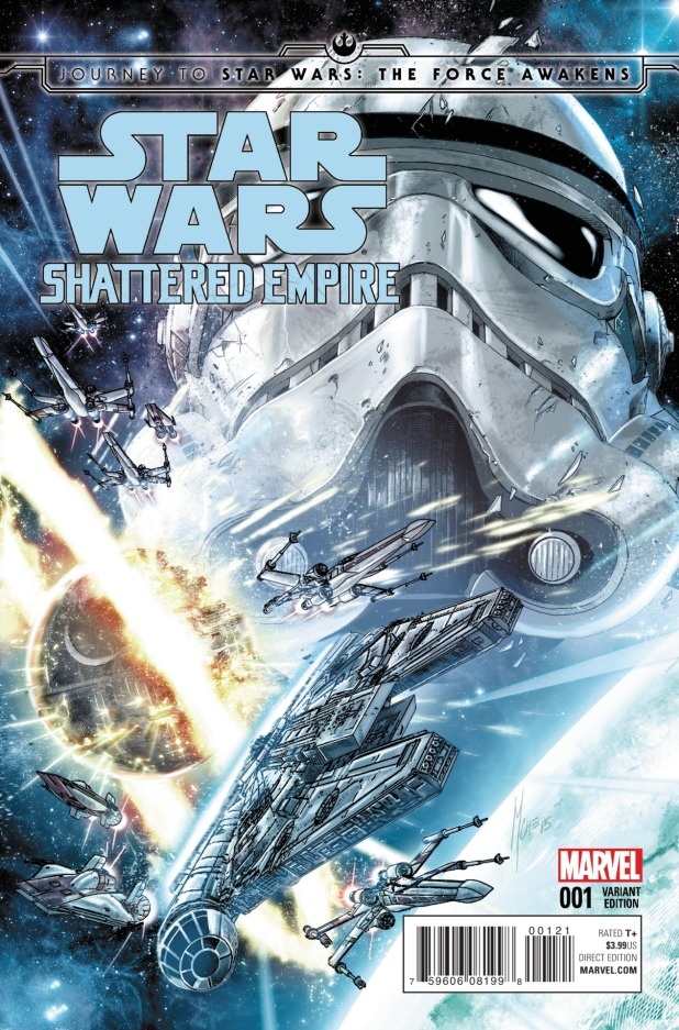 Star Wars Shattered Empire Cover A
