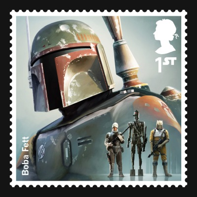 Star Wars UK Stamp #10 Boba Fett