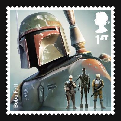 Star Wars UK Stamp #10 Boba Fett