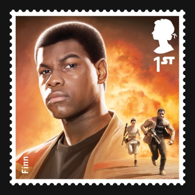 Star Wars UK Stamp #11 Finn