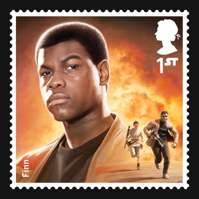 Star Wars UK Stamp #11 Finn