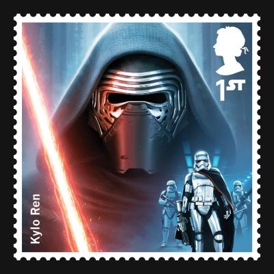 Star Wars UK Stamp #12 Kylo Ren