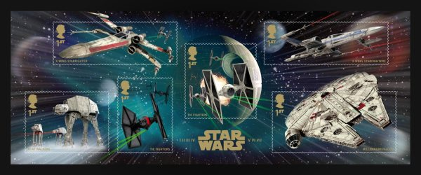 Star Wars UK Stamp #13 Vehicles