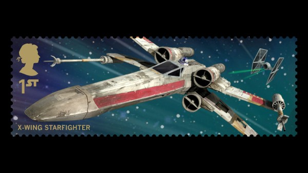 Star Wars UK Stamp #14 X-Wing