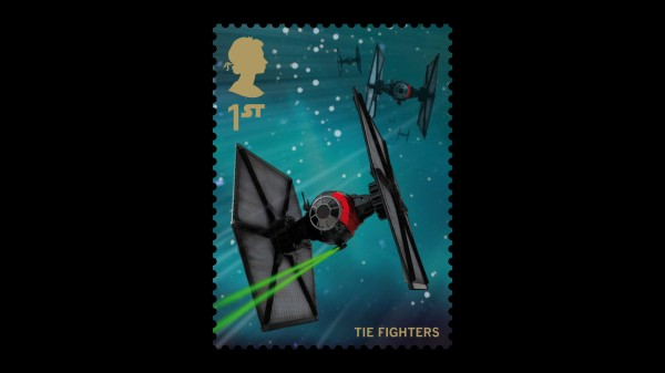 Star Wars UK Stamp #16 The Fighters