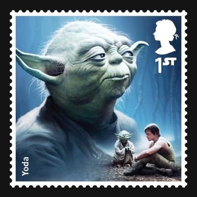 Star Wars UK Stamp #2 Yoda