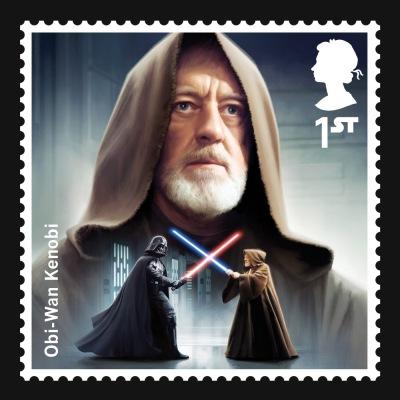Star Wars UK Stamp #3 Obi Wan