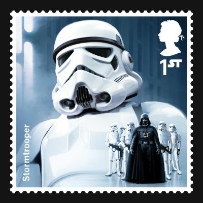 Star Wars UK Stamp #4 Stormtrooper