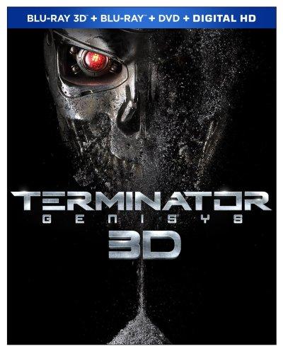 Terminator Genisys Blu-ray 3D Cover