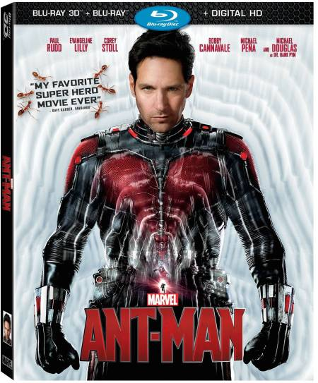 Ant-Man Blu-Ray Cover Image