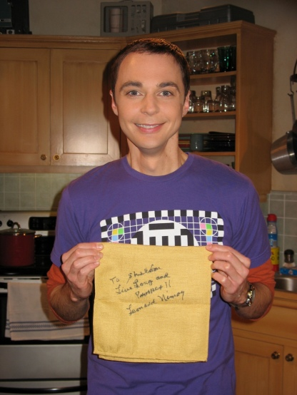 Big Bang Theory The Bath Item Gift Hypothesis