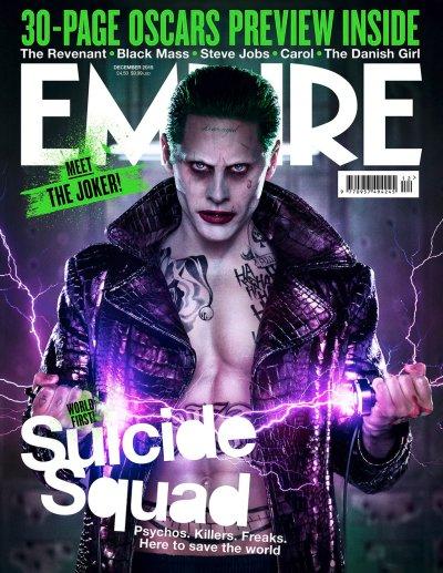 Empire Magazine Cover Leto's Joker