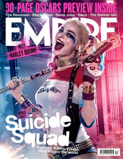 Empire Magazine Harley Quinn Image