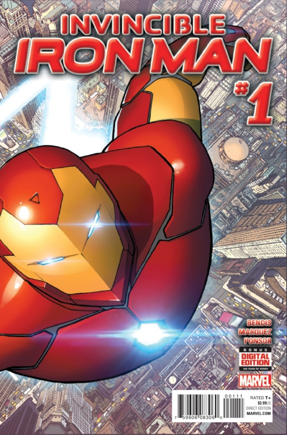 Invincible Iron Man #1 Cover A