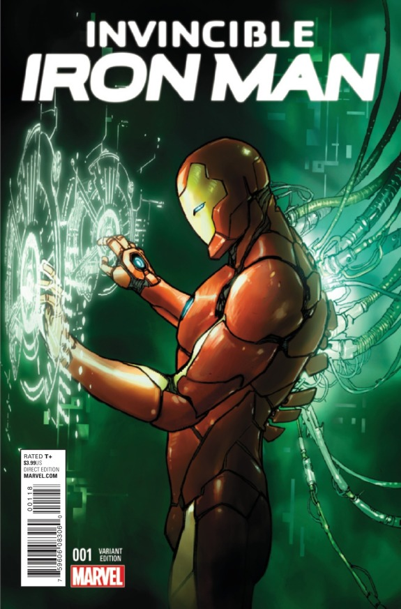 Invincible Iron Man #1 Cover C