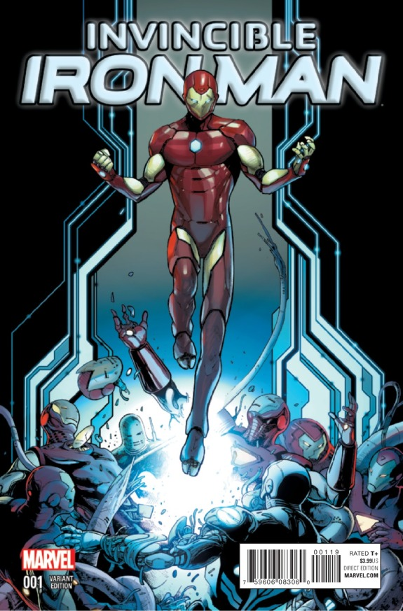 Invincible Iron Man #1 Cover D