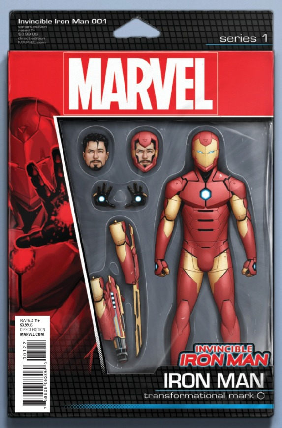 Invincible Iron Man #1 Cover F