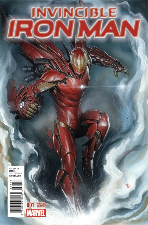 Invincible Iron Man #1 Cover I