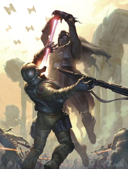 Star Wars Art Aaron McBride