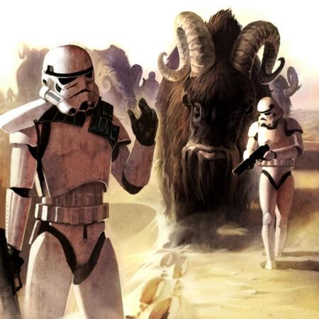 Star Wars Bantha Beast of Burden