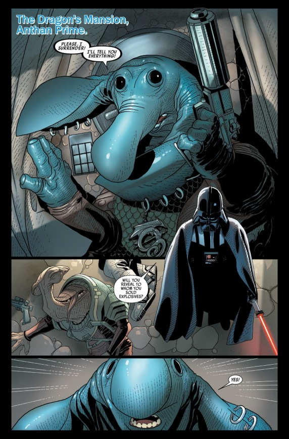 Star Wars Darth Vader #10 Page B