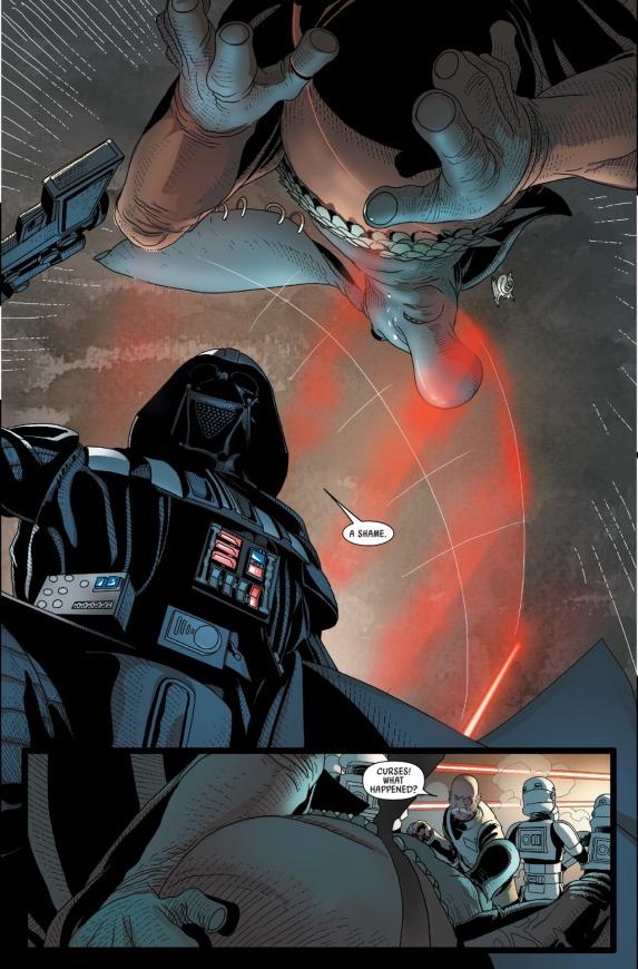 Star Wars Darth Vader #10 Page C