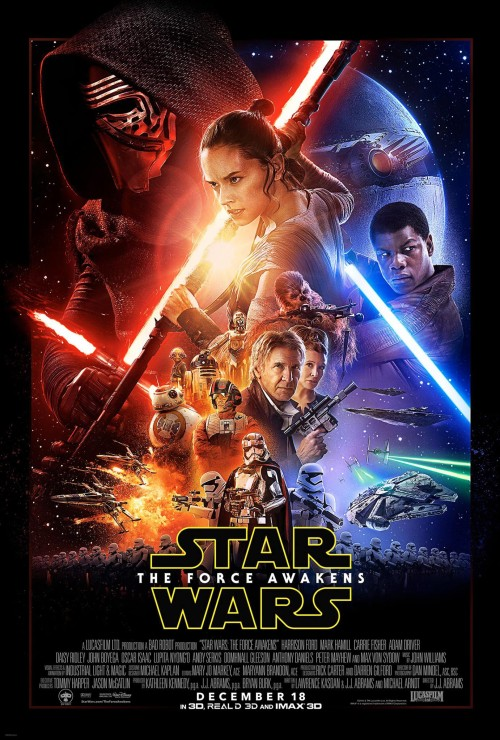 Star Wars Episode VII The Force Awakens Poster A