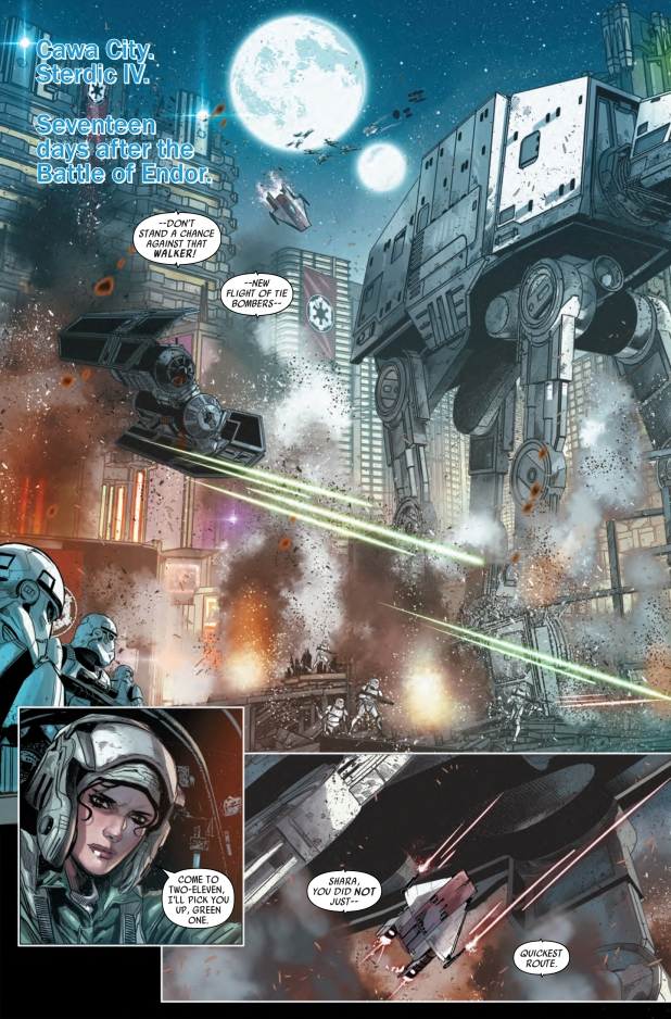 Star Wars Shattered Empire #2 Page A