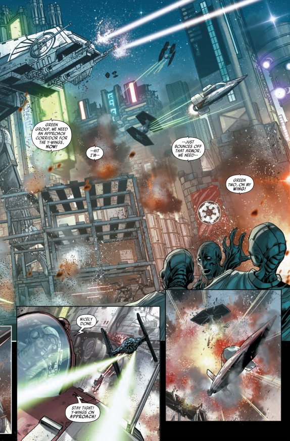 Star Wars Shattered Empire #2 Page B