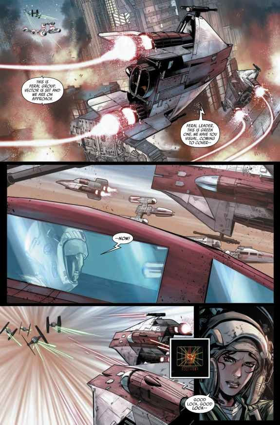 Star Wars Shattered Empire #2 Page C