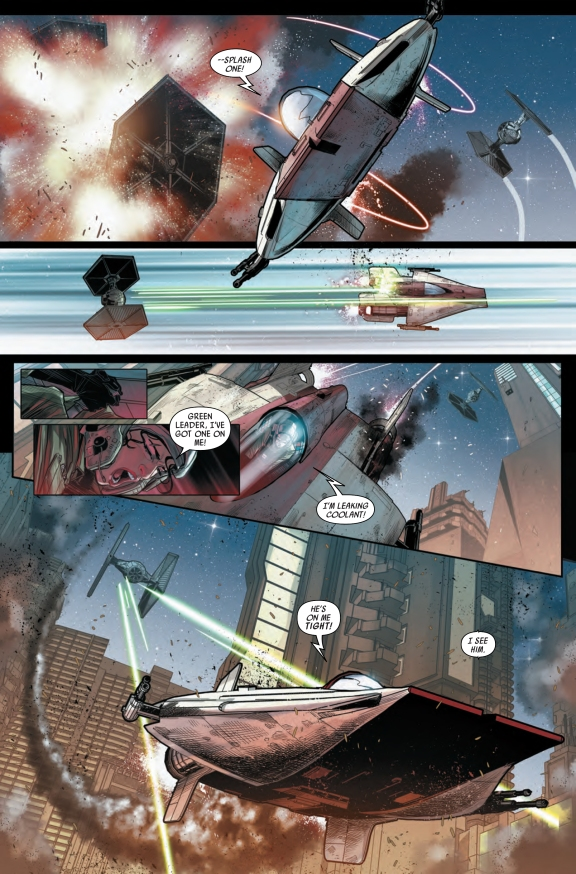Star Wars Shattered Empire #2 Page D
