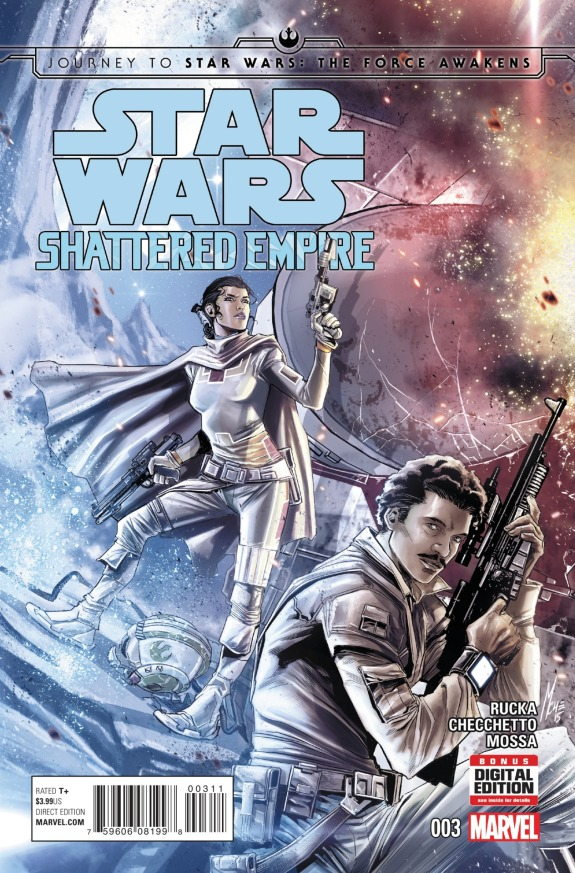 Star Wars Shattered Empire #3 Cover A