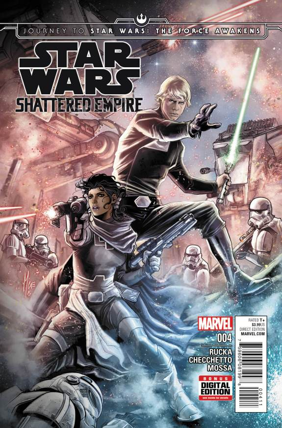 Star Wars Shattered Empire #4 Cover A