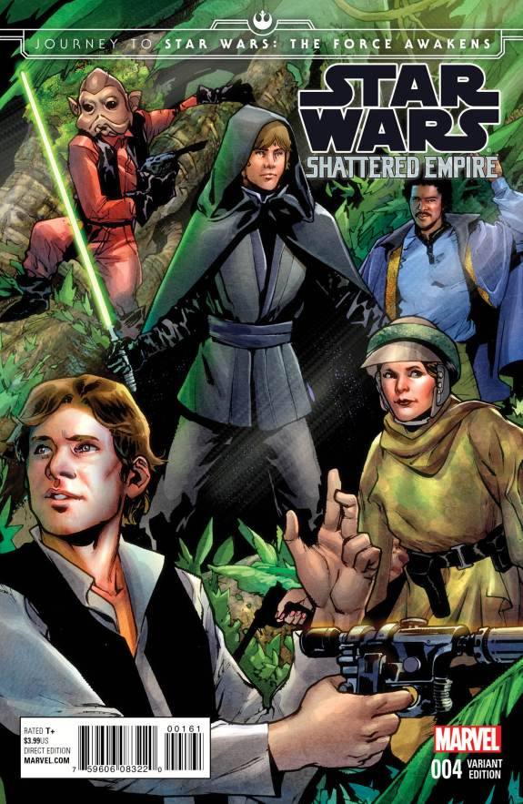 Star Wars Shattered Empire #4 Cover B