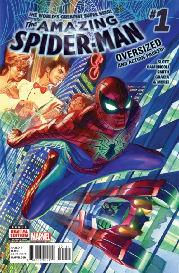 The Amazing Spider-Man #1 Cover A