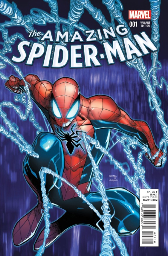 The Amazing Spider-Man #1 Cover B