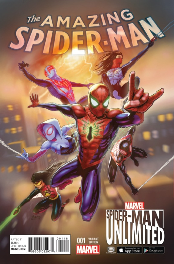 The Amazing Spider-Man #1 Cover C