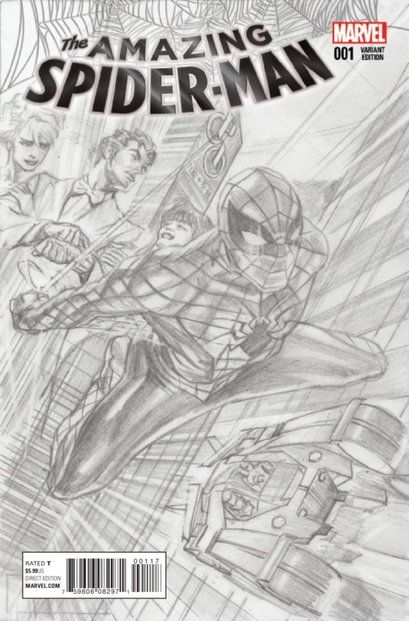 The Amazing Spider-Man #1 Cover D