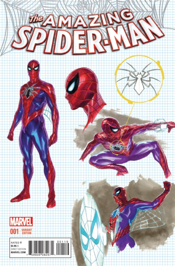 The Amazing Spider-Man #1 Cover E