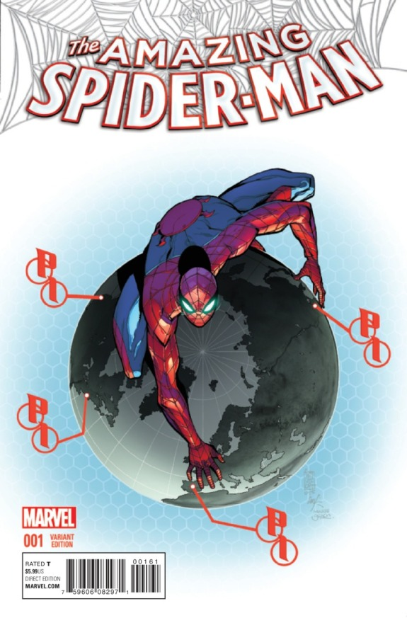 The Amazing Spider-Man #1 Cover H