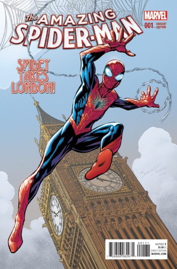 The Amazing Spider-Man #1 Cover I