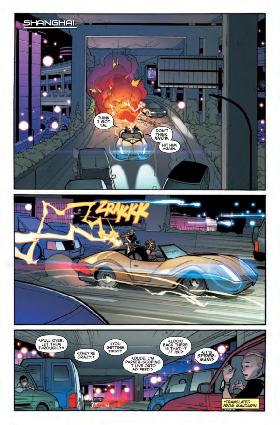 The Amazing Spider-Man #1 Page A