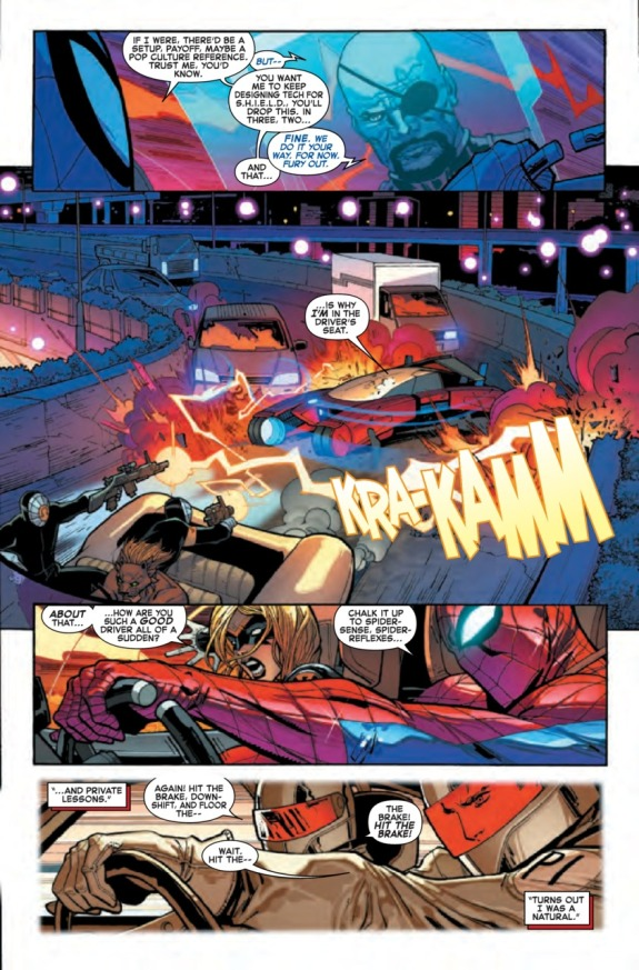 The Amazing Spider-Man #1 Page D