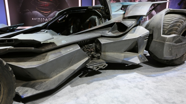 Batman v Superman Batmobile Image #8
